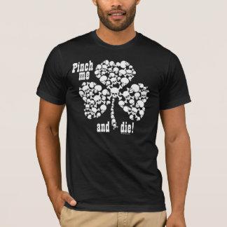 Klemmen Sie mich und DIE Schädel-Kleeblatt T-Shirt