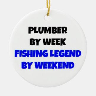 Klempner durch Wochen-Fischen-Legende bis zum Keramik Ornament