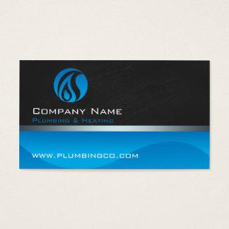 Klempnerarbeit- und Heizungs-Visitenkarten Visitenkarte