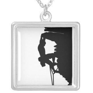 Klettern-Halskette Halskette Mit Quadratischem Anhänger