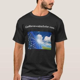Klima-Aktions-Schwarz-T-Stück T-Shirt