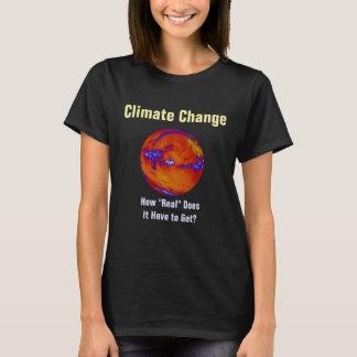 """Klima-Änderung wie """"wirkliches"""" personalisiertes T-Shirt"""