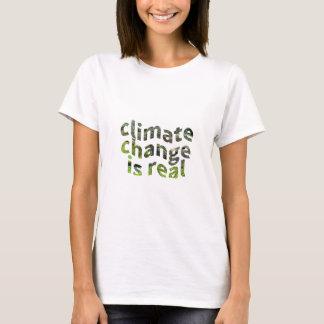 Klima-Änderungs-globales T-Shirt