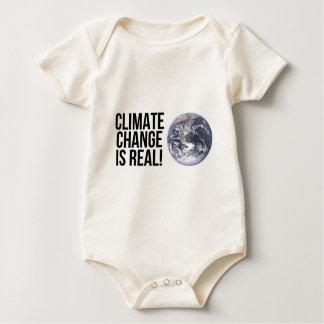 Klimawandel ist wirklich! Planeten-Erdwelt Baby Strampler