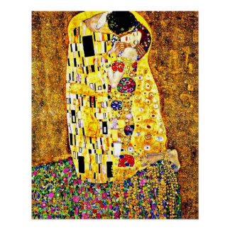Klimt - die schöne Kunst des Kusses (in voller Poster
