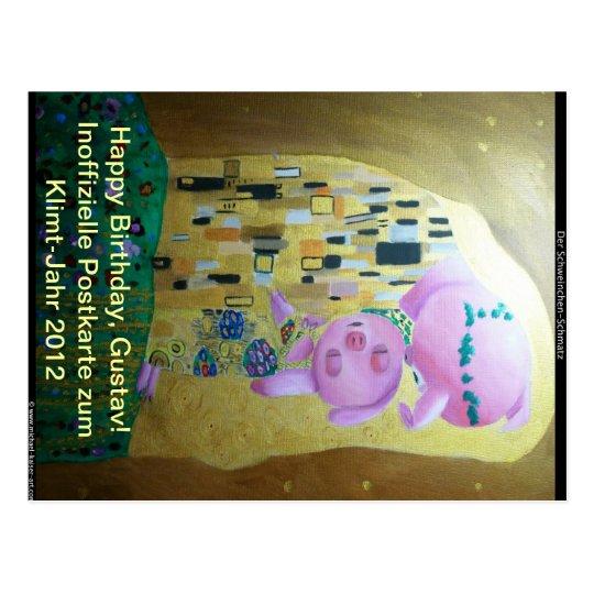 Klimt-Jahr-2012 Postkarte