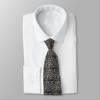 Klingel-vollständig silberne Klingel-Bell-Krawatte Personalisierte Krawatte
