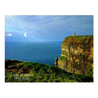 Klippen von Moher Postkarte
