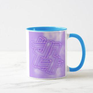 Kluge Tasse des Neons zu