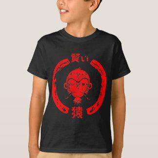 Kluges Affe-Rot T-Shirt