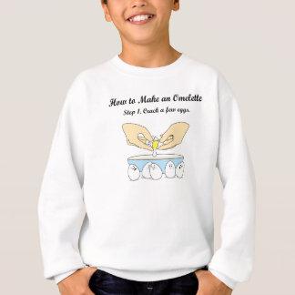 Knacken Sie einige Eier Sweatshirt