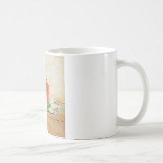 Knoblauch, Zwiebeln und Pfeffer Tasse