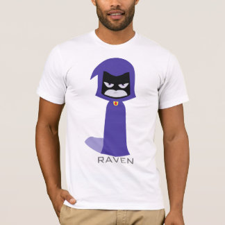 Knopf des Raben-(TeenTitans) T-Shirt