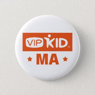 Knopf Massachusetts VIPKID Runder Button 5,7 Cm
