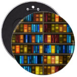 Knöpfe der Bücherregal-1 Buttons