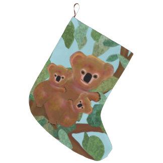 Koala-Eukalyptus-WeihnachtsStrümpfe Große Weihnachtsstrümpfe