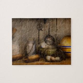Koch - Bestandteile - Frühstück und Großvaters Puzzle
