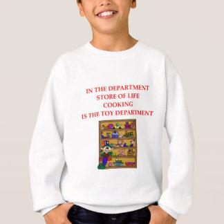 KOCHEN von ngifts und von t-sirts Sweatshirt