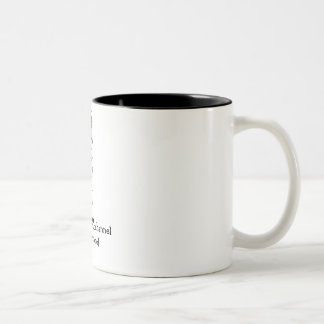Kochs-Mama-Tasse Zweifarbige Tasse
