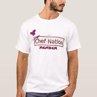 Kochs-Nations-Mitgliedst-stück T-Shirt