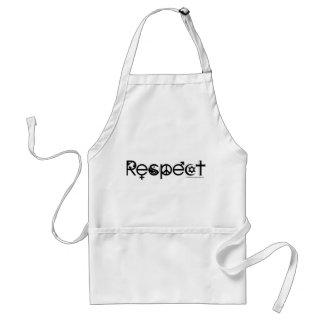 Koexistieren mit Respekt - Friedensgüte u. Schürze