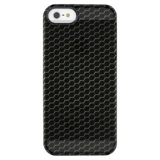 Kohlenstoff-Faser-verstärktes Polymer Durchsichtige iPhone SE/5/5s Hülle