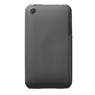 Kohlenstofffaser Muster iPhone 3 Case-Mate Hüllen