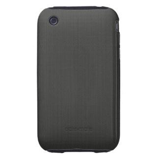 Kohlenstofffaser Muster iPhone 3 Tough Cover