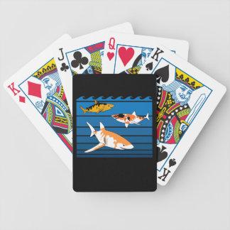 Koi Haifische Bicycle Spielkarten
