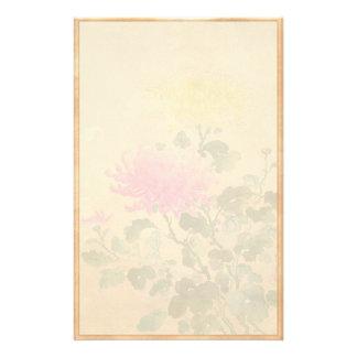 Orientalische blumen papierb gen for Japanische blumenkunst