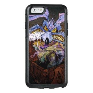 Kojote des Wile-E ein verrücktes im Kasten OtterBox iPhone 6/6s Hülle
