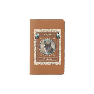 Kojote - Trickster-Notizbuch-Moleskin-Abdeckung Moleskine Taschennotizbuch