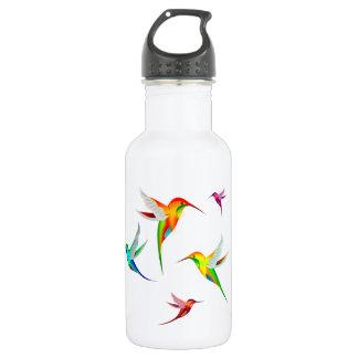 Kolibri-Menge niedlich - buntes Vogel-Aufpassen Trinkflasche