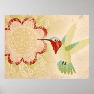 Kolibri-Plakat Poster