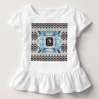 Kolibri-Ringe und Yin Yang Entwurf Kleinkind T-shirt