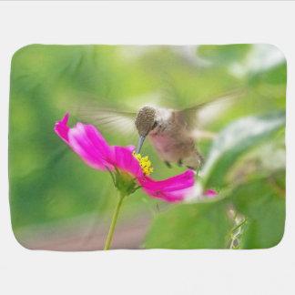 Kolibri-Vogel-Blumen-Blumentier-Tiere Puckdecke