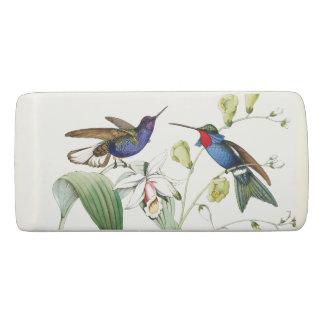 Kolibri-Vogel-Tier-Blumen-Garten-Radiergummi Radiergummis 0