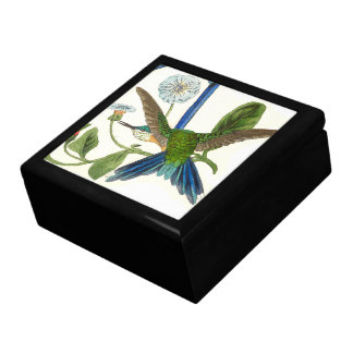 Kolibri-Vogel-Tier-Tier-BlumenGeschenkboxen Geschenkbox