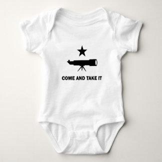 """""""Kommen Sie es"""" für Wissenschaftler nehmen Baby Strampler"""