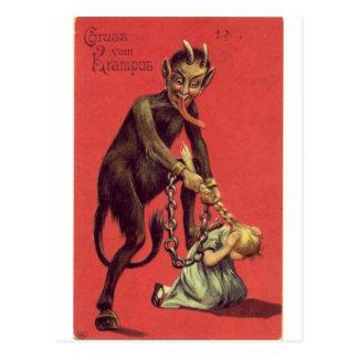 Kommt hier das Krampus! 2 Postkarte
