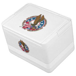 Kommt hier Freiheits-Amerikaner-Weißkopfseeadler Kühlbox