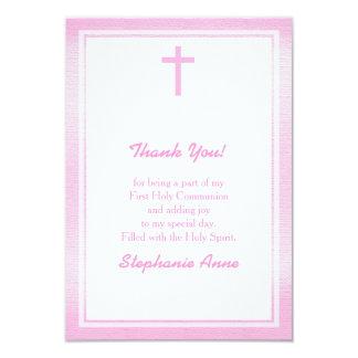 Kommunions-rosa Aquarell 8,9 X 12,7 Cm Einladungskarte