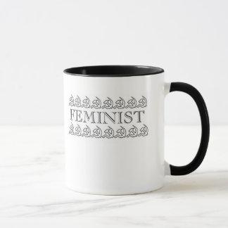 Kommunistische feministische Kaffee-Tasse Tasse