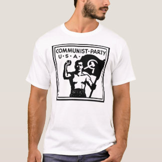 Kommunistischer Party USA-T - Shirt
