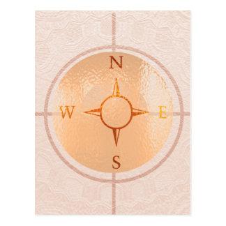 KOMPASS-NACHRICHTEN Nordost-westsüden Postkarte