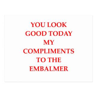 Komplimente Postkarte
