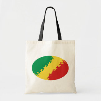 Kongo-Brazzaville Gnarly Flaggen-Tasche