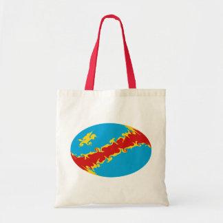 Kongo-Kinshasa Gnarly Flaggen-Tasche