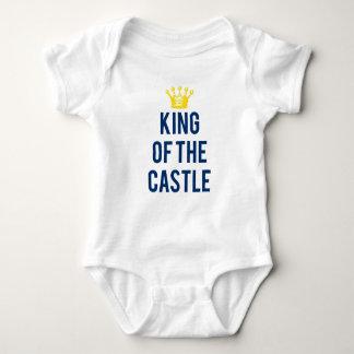 König des T-Stücks der Schlosskinder Baby Strampler