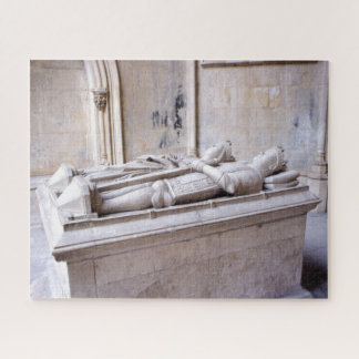 König Duarte u. Grab Portugal der Königin-Eleonor Puzzle
